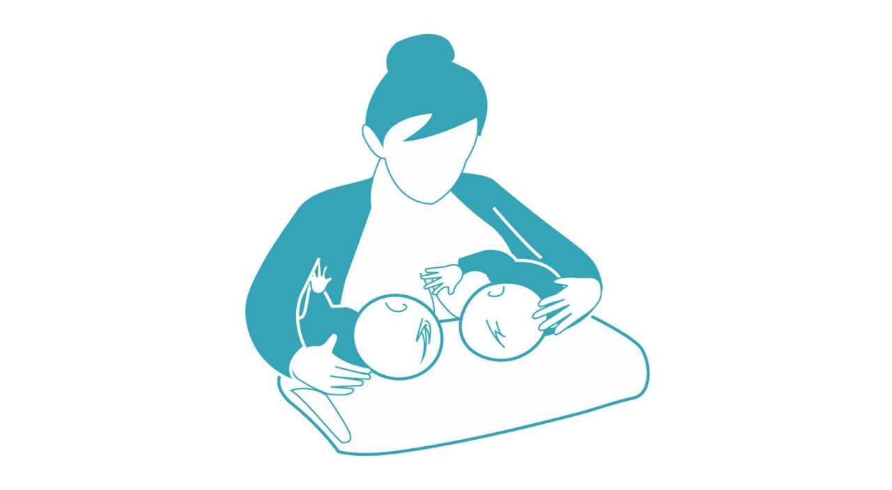 Στάσεις μητρικού θηλασμού Ταυτόχρονος θηλασμός διδύμων